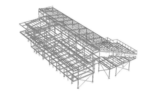 Structural Steel Detailing TEKLA Subbit 3D Draughting